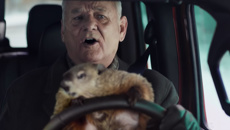 Super Bowl Ad: It's Groundhog Day again for Bill Murray!
