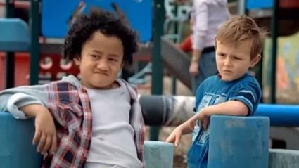 Watch the kids from the Mitre 10 DIY advert recreate the commercial 12 years later