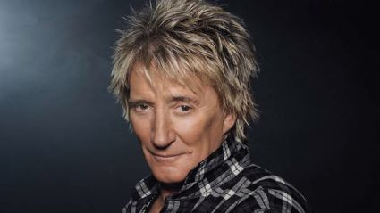 Sir Rod Stewart's performance, on Saturday, November 14, will be part of his The Hits! world tour, a 50-year celebration of his stellar career. Photo / Penny Lancaster