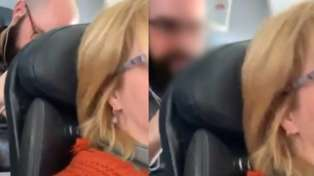 WATCH: Man gets physical over reclining plane seat