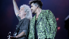 Queen and Adam Lambert re-enact iconic 1985 Live Aid set at Fire Fight Australia concert