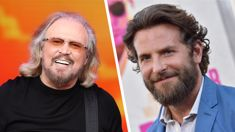 Bradley Cooper is reportedly in talks to play Barry Gibb in upcoming Bee Gees biopic