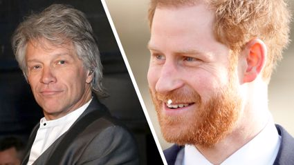 Prince Harry shares hilarious 'text exchange' with Jon Bon Jovi ahead of their music collaboration