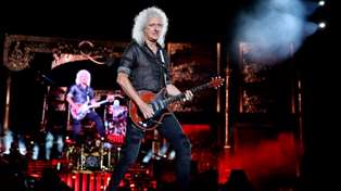 Queen's Brian May shares adorable moment with a recovering koala before bushfire relief concert