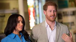 Prince Harry and Meghan Markle hit out at the Queen over loss of royal brand name