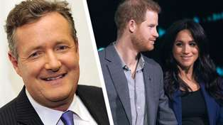 "Piers Morgan slams Prince Harry and Meghan Markle over their ""staggering disrespect"" of the Queen"