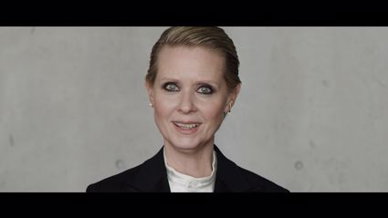 Cynthia Nixon narrates the video in an emotional and powerful performance