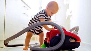Kmart releases vacuum for children so they can play and clean at the same time