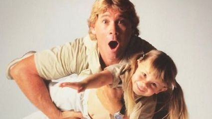 Bindi Irwin shares adorable never-before-seen home video with her late dad Steve Irwin