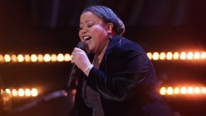 Woman wows with powerful performance of Foreigner's 'I Want to Know What Love Is' on The Voice