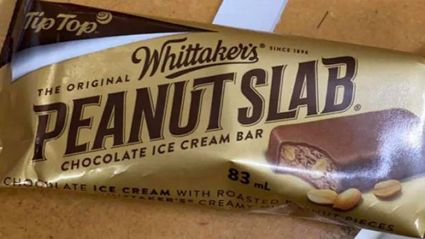 Tip Top has released a Whittaker's Peanut Slab ice cream and it sounds delicious!