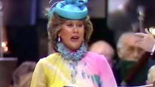 Happy 76th birthday Dame Kiri Te Kanawa! Watch her sing at Prince Charles and Princess Diana's wedding