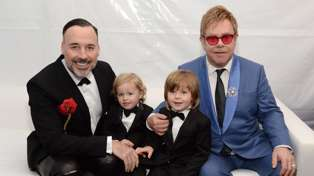 Elton John shares rare photos of his sons in Australia - and they're growing up so fast!