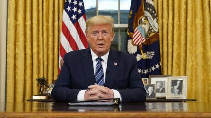 Coronavirus: Donald Trump bans all travel from Europe to America