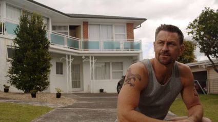 Grant Bowler as Wolf West in Outrageous Fortune