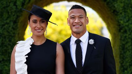 Maria and Israel Folau are reportedly expecting their first child