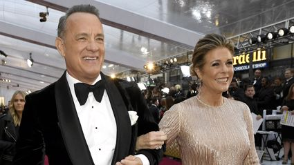 "Tom Hanks' wife Rita Wilson shares ""Quarantunes"" playlist for anyone self-isolating for coronavirus"