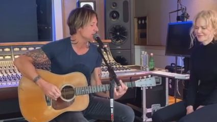 Keith Urban and Nicole Kidman pay tribute to Kenny Rogers with beautiful cover of 'The Gambler'