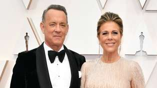 Tom Hanks and Rita Wilson have returned home to America after being diagnosed with coronavirus