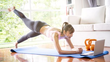 You can now workout at home with these five great FREE online workouts