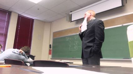 Students play hilarious April Fools prank on teacher with awkward speakerphone call