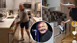 People are recreating Phil Collins' 'In The Air Tonight' drums with cupboards in new viral challenge