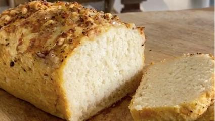 Chelsea Winter's lock down loaf / Instagram