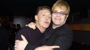 Elton John and Paul McCartney team up for star-studded thank you video for healthcare workers