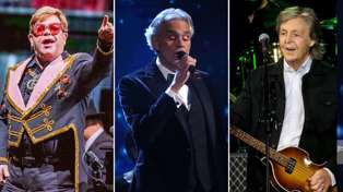 Elton John, Paul McCartney and Andrea Bocelli to perform at star-studded live-stream charity special