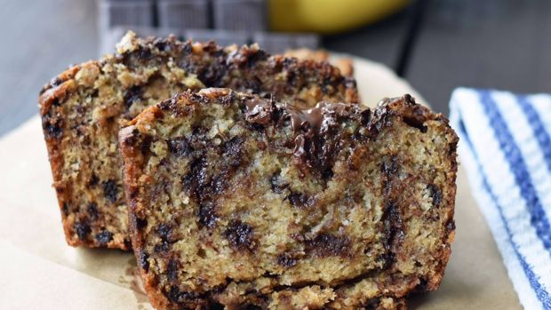 Mel adds chocolate chips to her recipe for a gooey decadent finish!