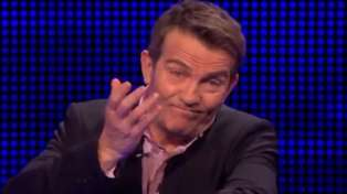 The Chase's Bradley Walsh left blushing after elderly contestant cheekily hits on him