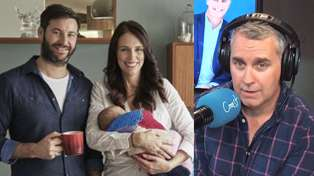 Jacinda Ardern gives Jason Reeves a hilarious progress report on baby Neve's potty training!