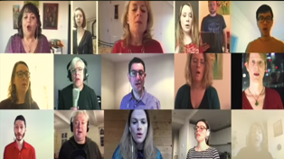 London-based choir sings stunning rendition of 'Pokerekere Ana' from their isolation bubbles