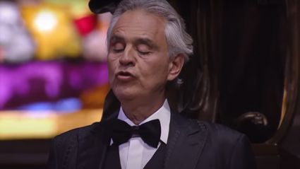 Andrea Bocelli sings haunting rendition of 'Amazing Grace' from an empty Duomo di Milano