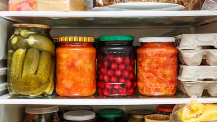 Mum shares her unusual hack to stop food in jars from going mouldy in the fridge