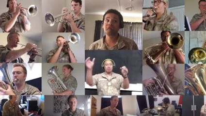 New Zealand Army Band wows with upbeat virtual performance of Robin Williams' 'Friend Like Me'
