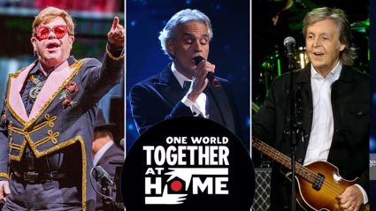 Watch the massive One World: Together At Home charity concert LIVE here ...