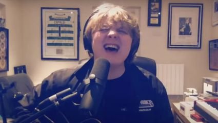 Lewis Capaldi performs stunning stripped-back cover of ABBA's 'Dancing Queen' for charity