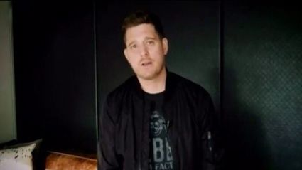 Michael Bublé leaves fans swooning with heartfelt cover of The Beach Boys' 'God Only Knows'