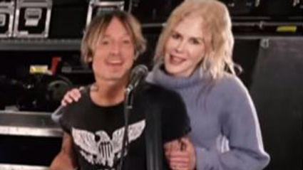 Nicole Kidman makes sweet surprise appearance during Keith Urban's cover of 'Higher Love'
