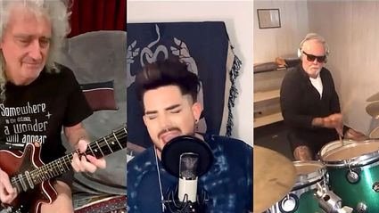 Queen and Adam Lambert treat fans to heartwarming new rendition of 'We Are the Champions'