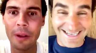WATCH: Rafael Nadal and Roger Federe's Hilarious Video Chat