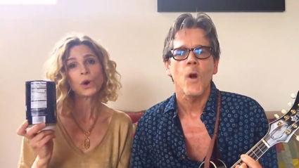 Kevin Bacon and Kyra Sedgwick sing beautiful lockdown parody of 'Quando Quando Quando'