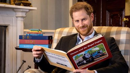 75 years: Prince Harry makes special TV appearance for Thomas the Tank Engine for sweet reason