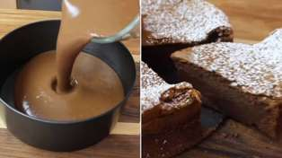 This super-easy two-ingredient Nutella cake recipe is pure decadence