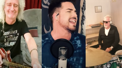 WATCH: Queen & Adam Lambert release new 'You Are The Champions' fundraiser to assist Covid-19 pandemic