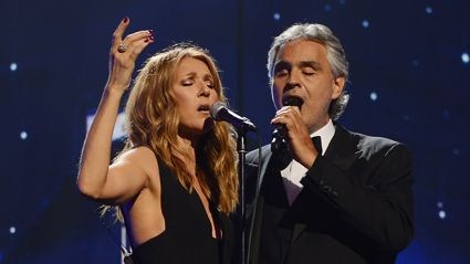 Andrea Bocelli and Céline Dion unite fans around the world for emotional new 'The Prayer' video