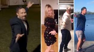 Joseph Parker challenges Jase, Toni & Sam to join him in recreating the 'Time Warp' dance