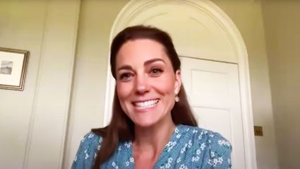 Kate Middleton surprises new parents just hours after the arrival of their son over video call