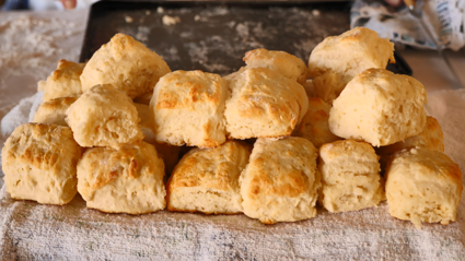 Muriels scones look fluffy, decadent and delicous!